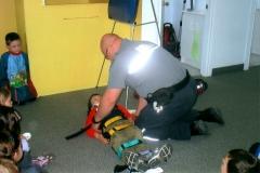 Visite de l'ambulancier