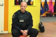 Visite du policier éducateur